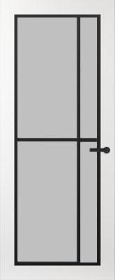Svedex FR503Z Satijn glas binnendeur
