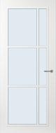 Svedex FR504W Blank glas binnendeur