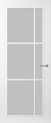 Svedex FR504W Satijn glas binnendeur