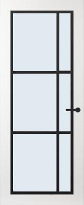 Svedex FR504Z Blank glas binnendeur