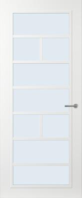Svedex FR505W Blank glas binnendeur