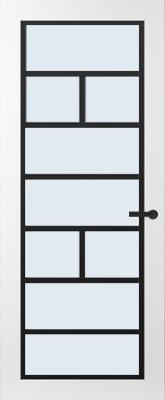 Svedex FR505Z Blank glas binnendeur