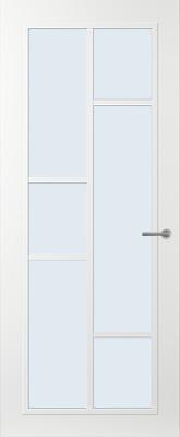 Svedex FR506W Blank glas binnendeur