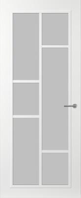 Svedex FR506W Satijn glas binnendeur