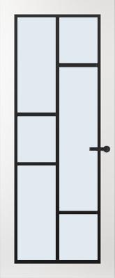 Svedex FR506Z Blank glas binnendeur