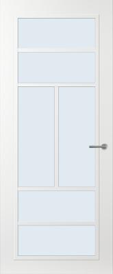 Svedex FR507W Blank glas binnendeur