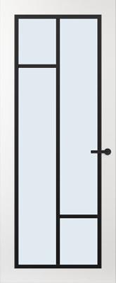 Svedex FR508Z Blank glas binnendeur