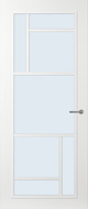 Svedex FR509W Blank glas binnendeur