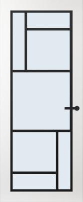 Svedex FR509Z Blank glas binnendeur