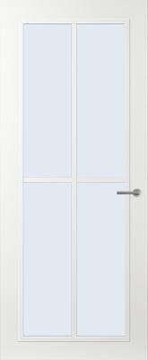 Svedex FR510W Blank glas binnendeur