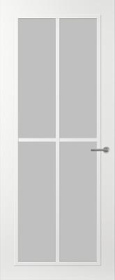 Svedex FR510W Satijn glas binnendeur