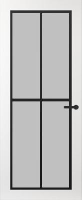 Svedex FR510Z Satijn glas binnendeur
