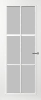 Svedex FR511W Satijn glas binnendeur