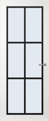 Svedex FR511Z Blank glas binnendeur
