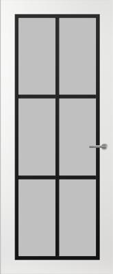 Svedex FR511Z Satijn glas binnendeur