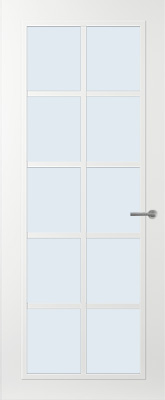 Svedex FR512W Blank glas binnendeur