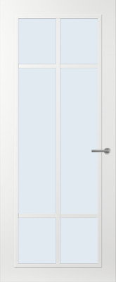 Svedex FR513W Blank glas binnendeur
