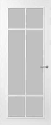Svedex FR513W Satijn glas binnendeur