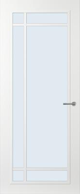 Svedex FR514W Blank glas binnendeur