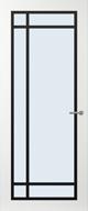Svedex FR514Z Blank glas binnendeur