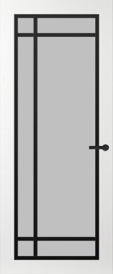 Svedex FR514Z Satijn glas binnendeur
