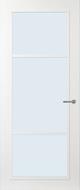 Svedex FR515W Blank glas binnendeur