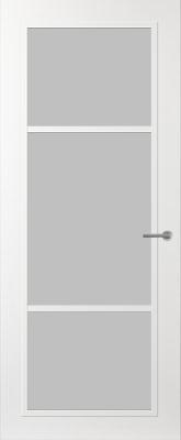 Svedex FR515W Satijn glas binnendeur