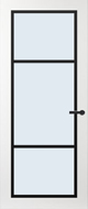 Svedex FR515Z Blank glas binnendeur