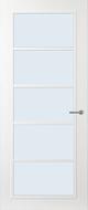 Svedex FR516W Blank glas binnendeur
