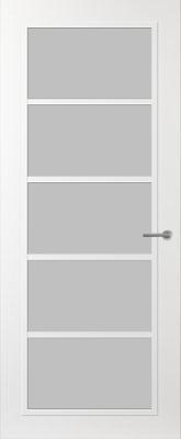 Svedex FR516W Satijn glas binnendeur