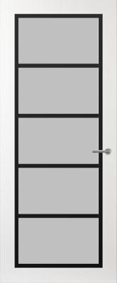 Svedex FR516Z Satijn glas binnendeur