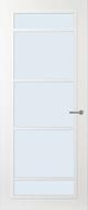 Svedex FR517W Blank glas binnendeur