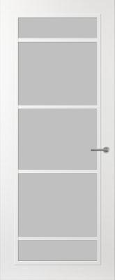 Svedex FR517W Satijn glas binnendeur