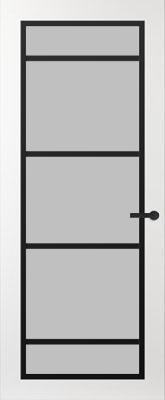 Svedex FR517Z Satijn glas binnendeur