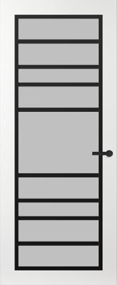 Svedex FR518Z Satijn glas binnendeur