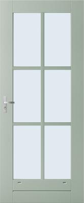 Weekamp WK042 6 ruits binnendeur