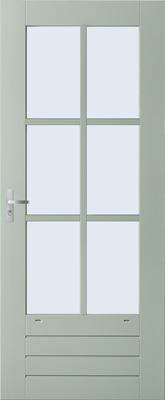 Weekamp WK044 6 ruits binnendeur
