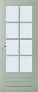 Weekamp WK044 8 ruits buitendeur
