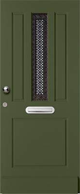 Weekamp WK1436 Blank isolatieglas buitendeur