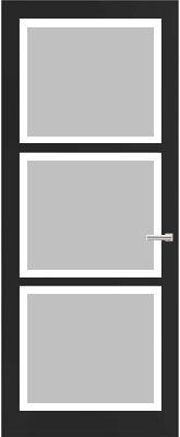 Weekamp WK 6356 Satijn facetglas binnendeur