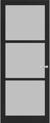 Weekamp WK 6356 Satijn glas binnendeur