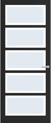 Weekamp WK 6360 Blank facetglas binnendeur