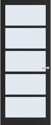 Weekamp WK 6360 Blank glas binnendeur