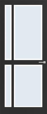 Weekamp WK 6361 Blank facetglas binnendeur