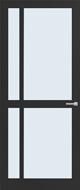 Weekamp WK 6361 Blank glas binnendeur