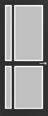 Weekamp WK 6361 Satijn facetglas binnendeur