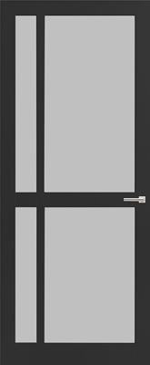 Weekamp WK 6361 Satijn gelaagd glas binnendeur