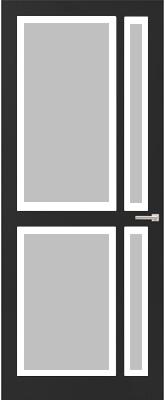 Weekamp WK 6362 Satijn facetglas binnendeur
