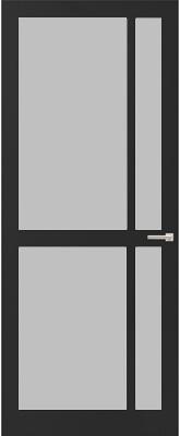 Weekamp WK 6361 Satijn glas binnendeur