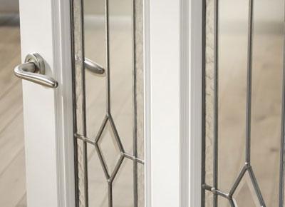 Binnendeur Met Glas.Glas In Lood Deuren Voordeeldeuren